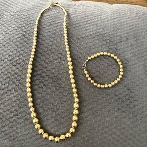 Karla Jordan bead necklace/ bracelet set